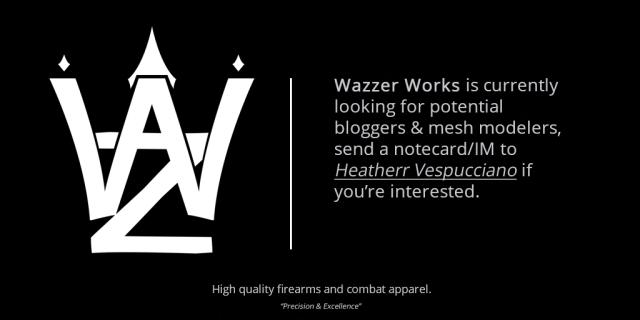 Wazzer Recruitment Ad